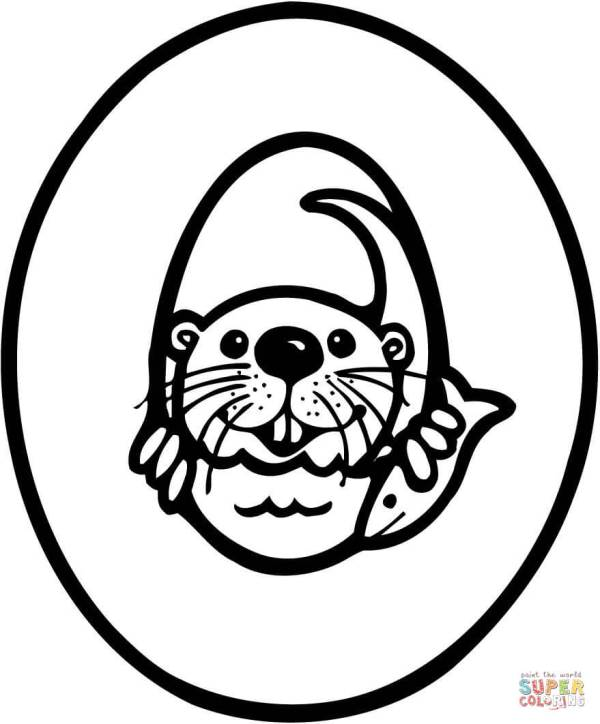 letter o coloring pages # 43