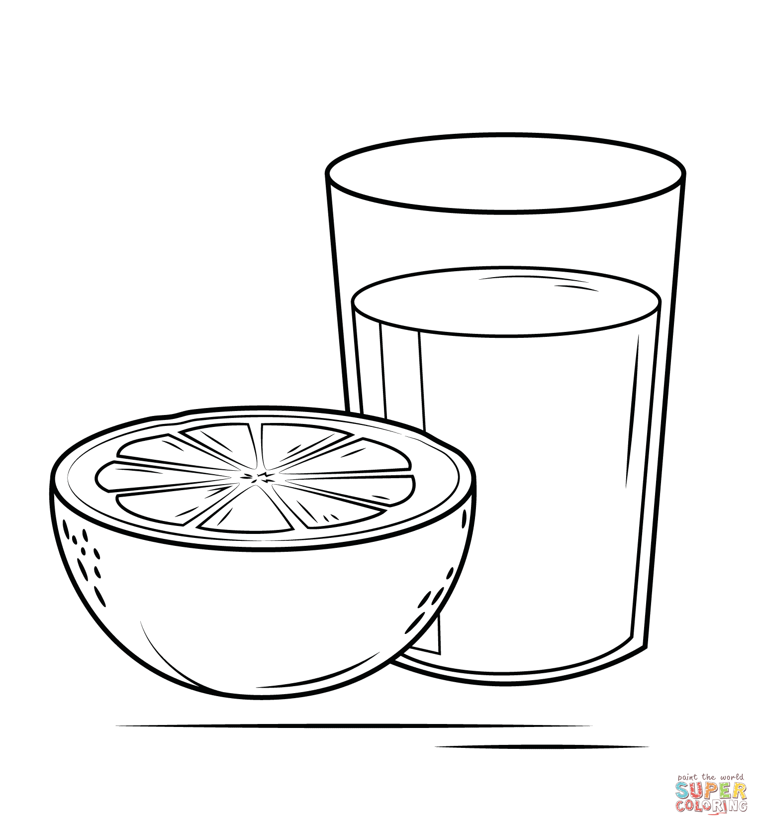 things that are orange coloring pages coloring pages
