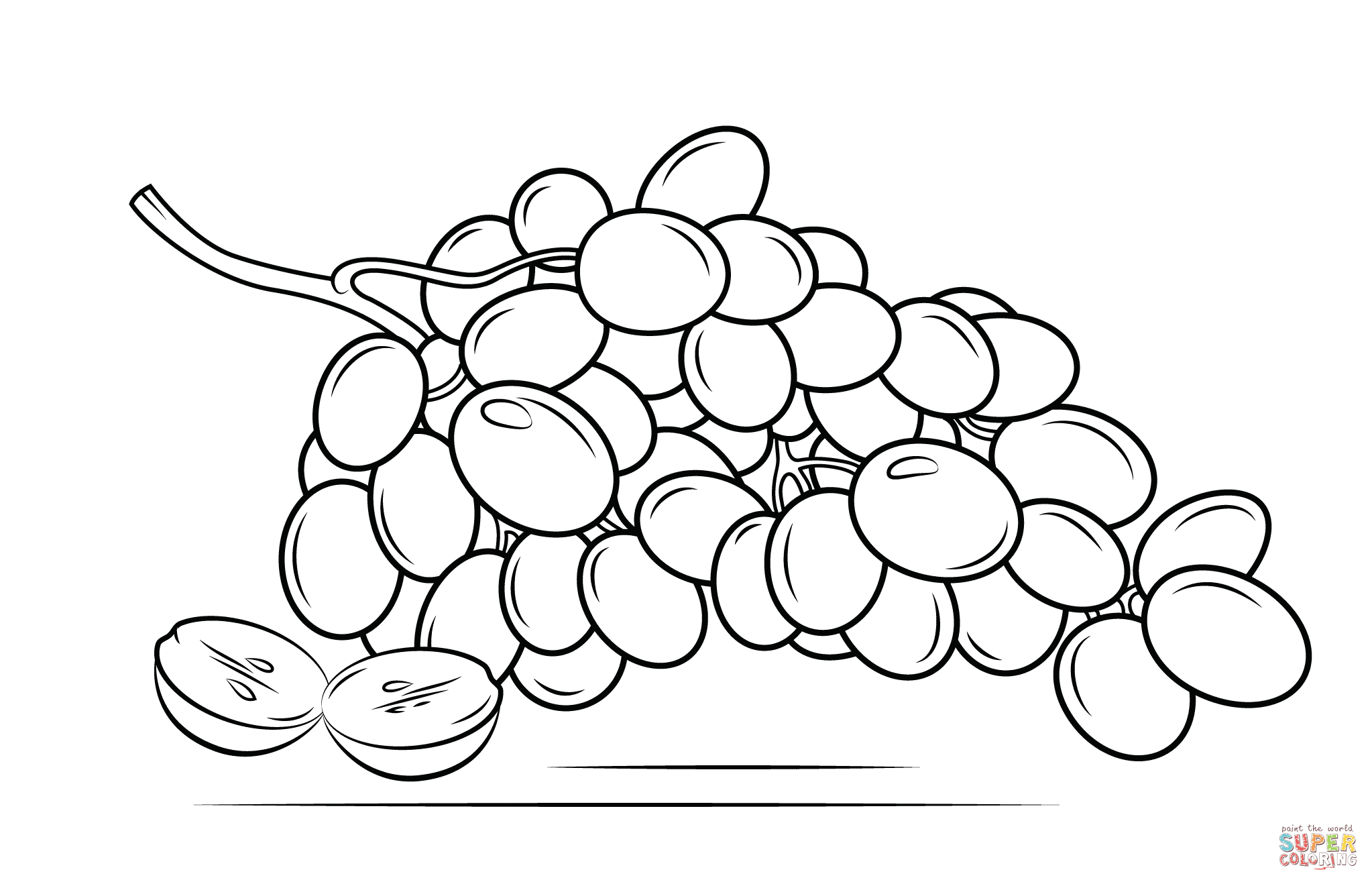 G S Coloring Page