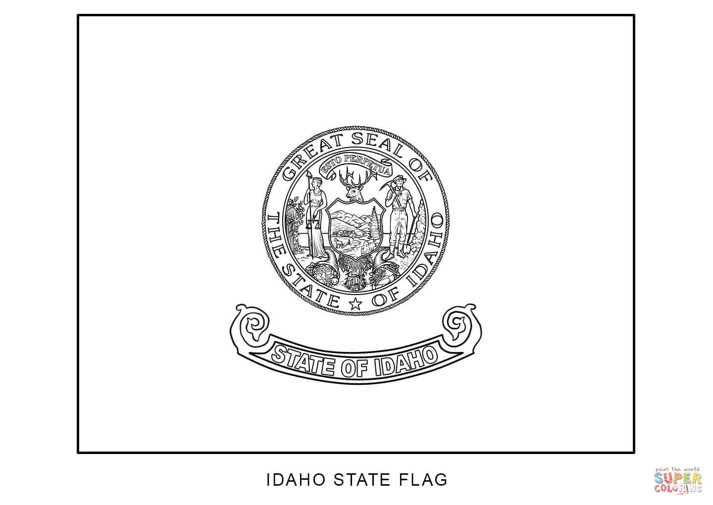 Coloring Pages Colorado State Flag Coloring Page illinois state flag coloring page futpal com california eassume