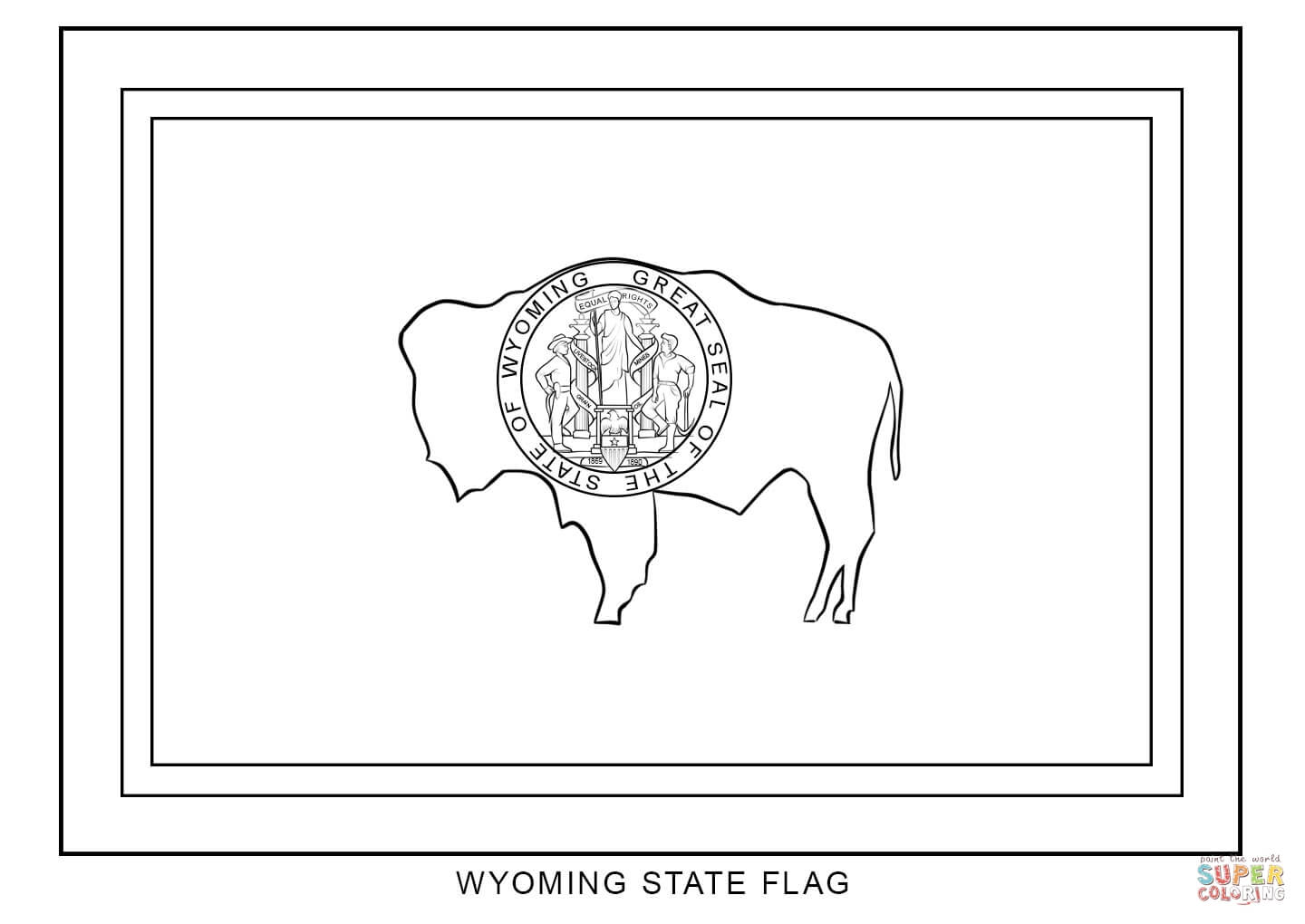 clip art kentucky state flag coloring page mycoloring free