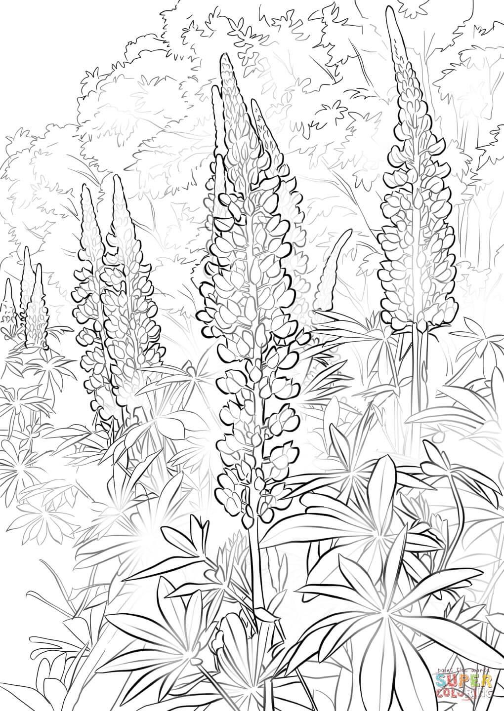 flower free printable