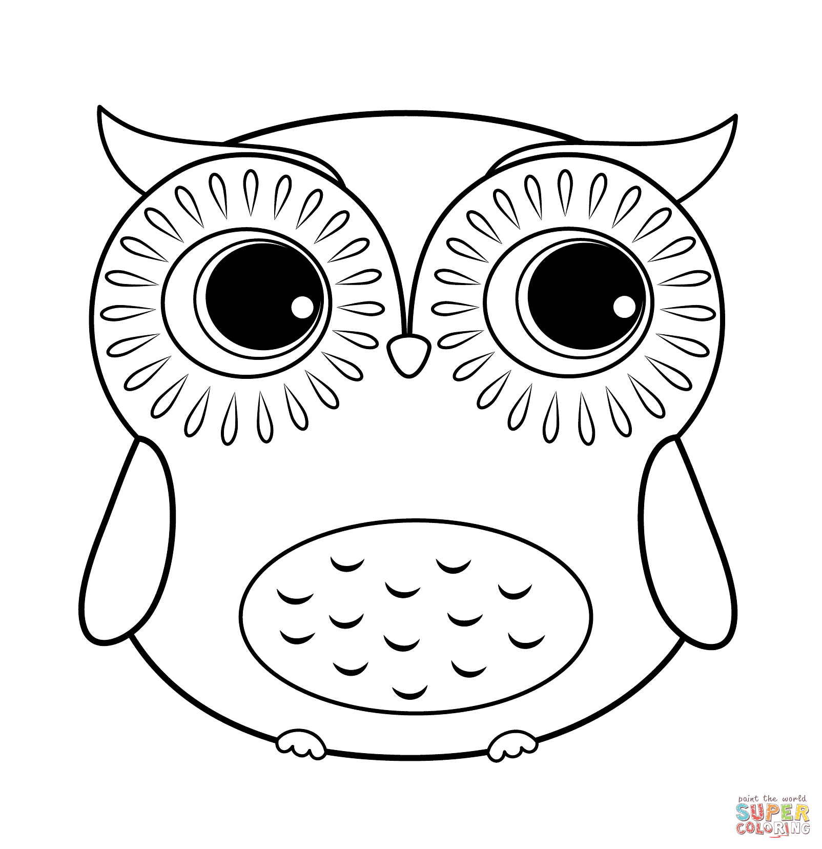 hard more images of cartoon owl coloring pages baby owl coloring