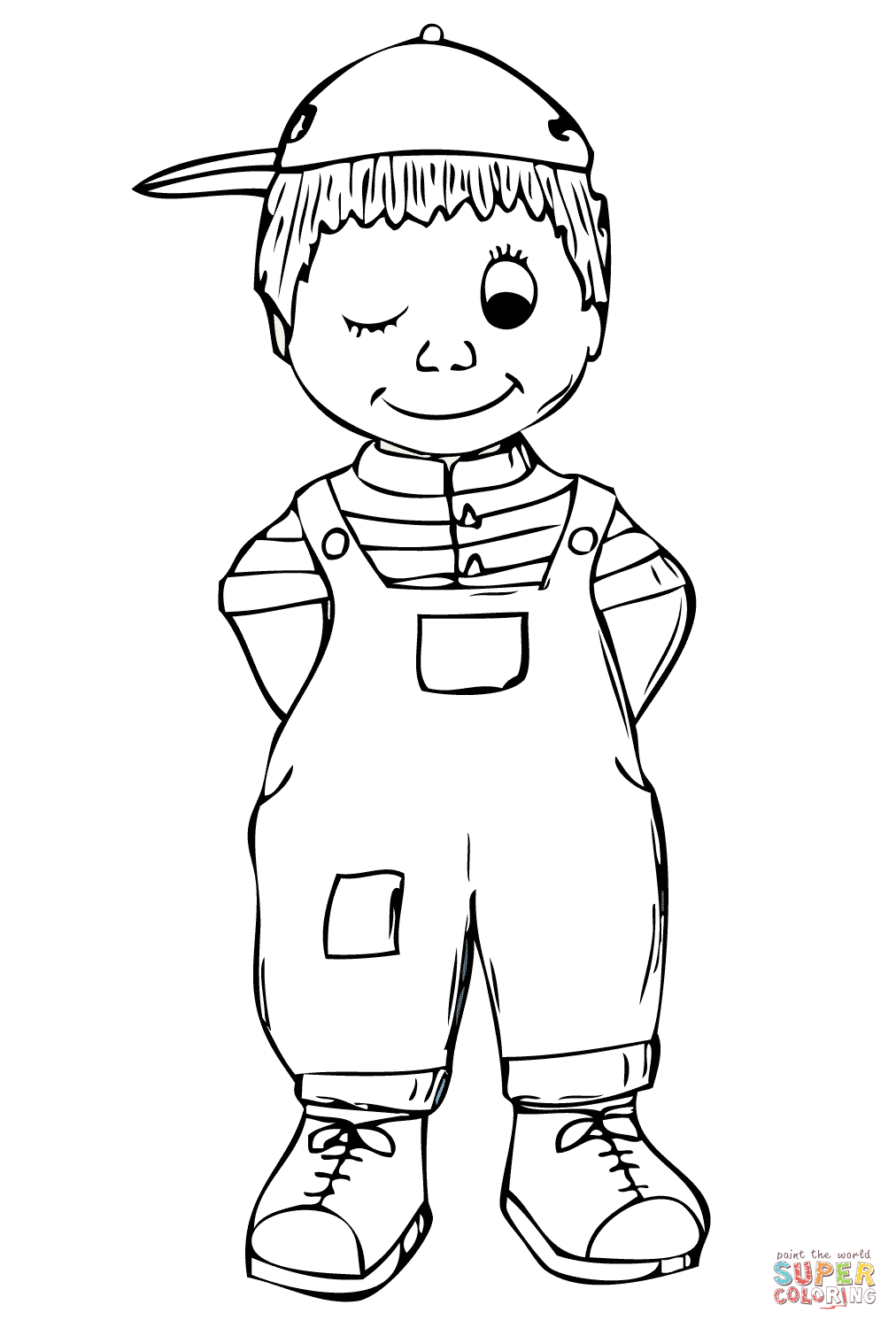 Full page coloring pages boys for Boys color pages
