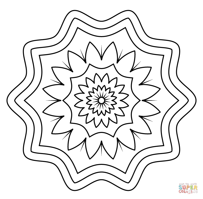 easy henna coloring pages - simple henna coloring pages printable coloring pages