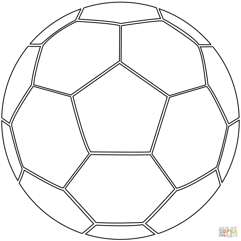 Belle Coloriage De Ballon De Foot A Imprimer