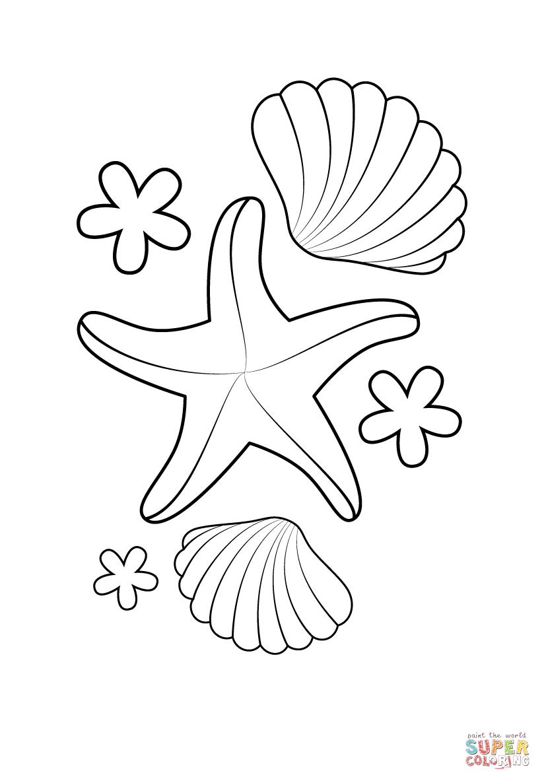and shells free printable