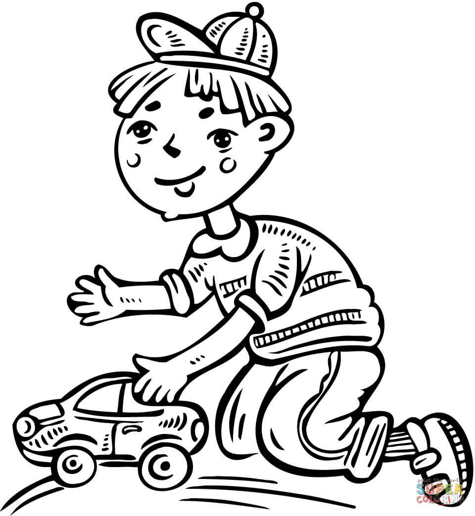 little boy walking his dog coloring page free printable coloring