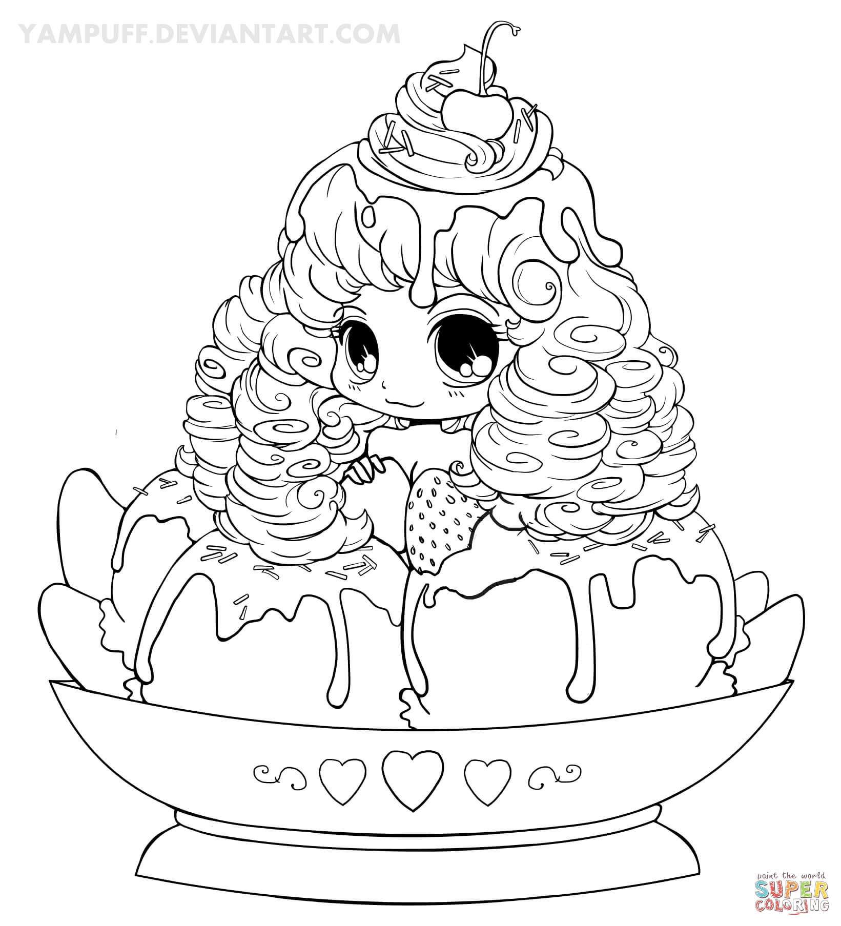 anime girls coloring pages free coloring pages