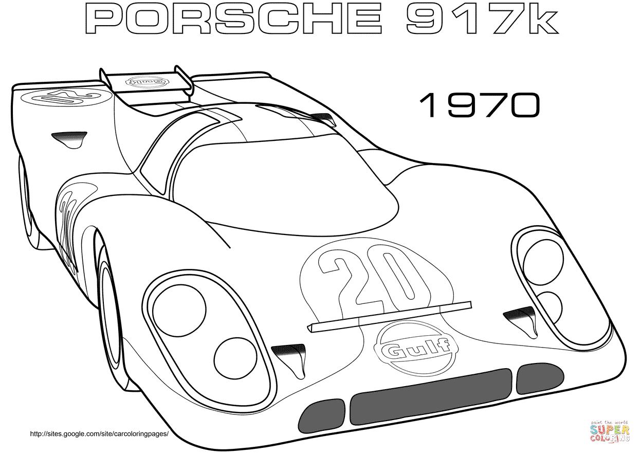 Porsche Logo Coloring Pages Sketch Coloring Page