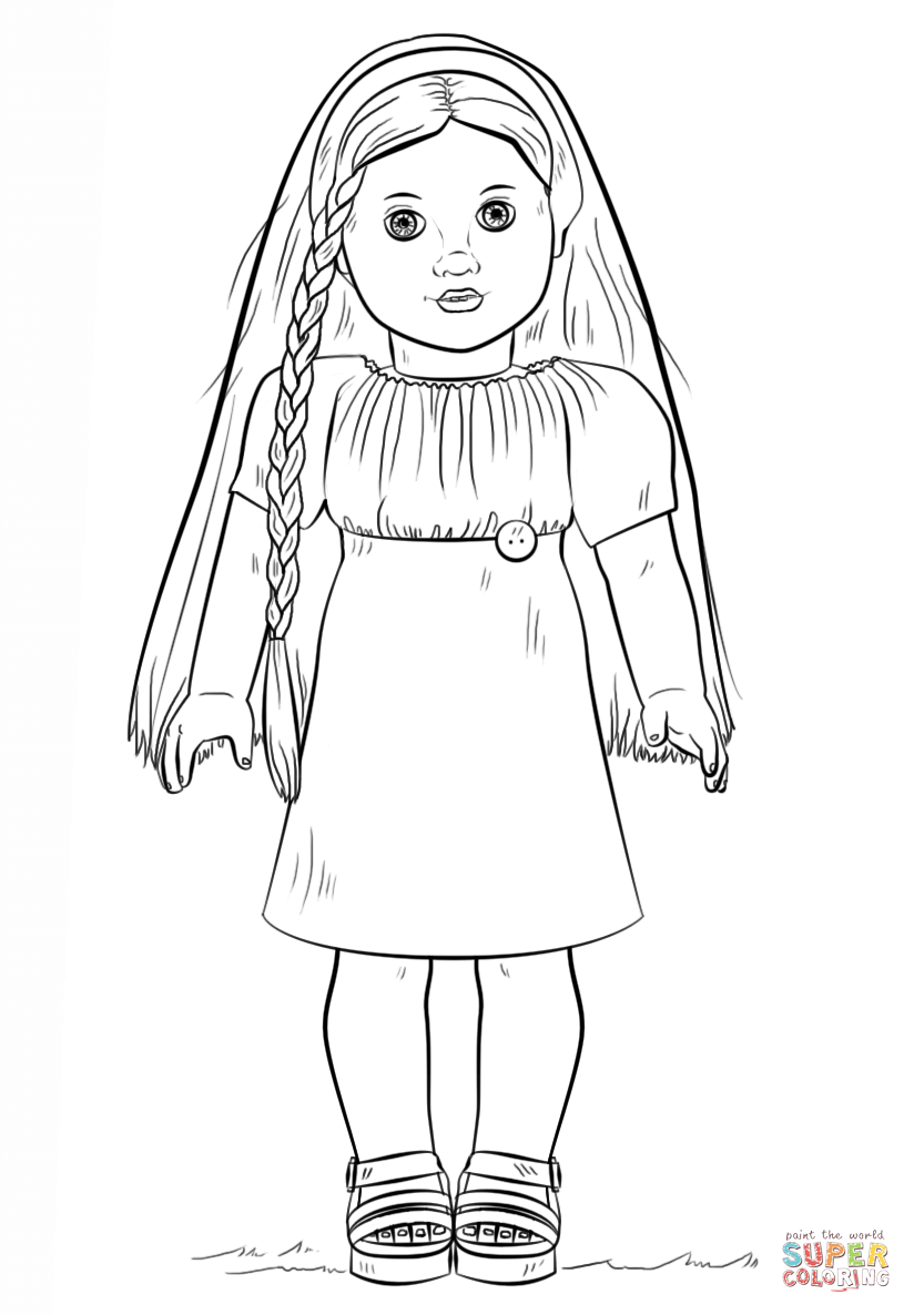 american girl doll julie coloring page free printable coloring pages