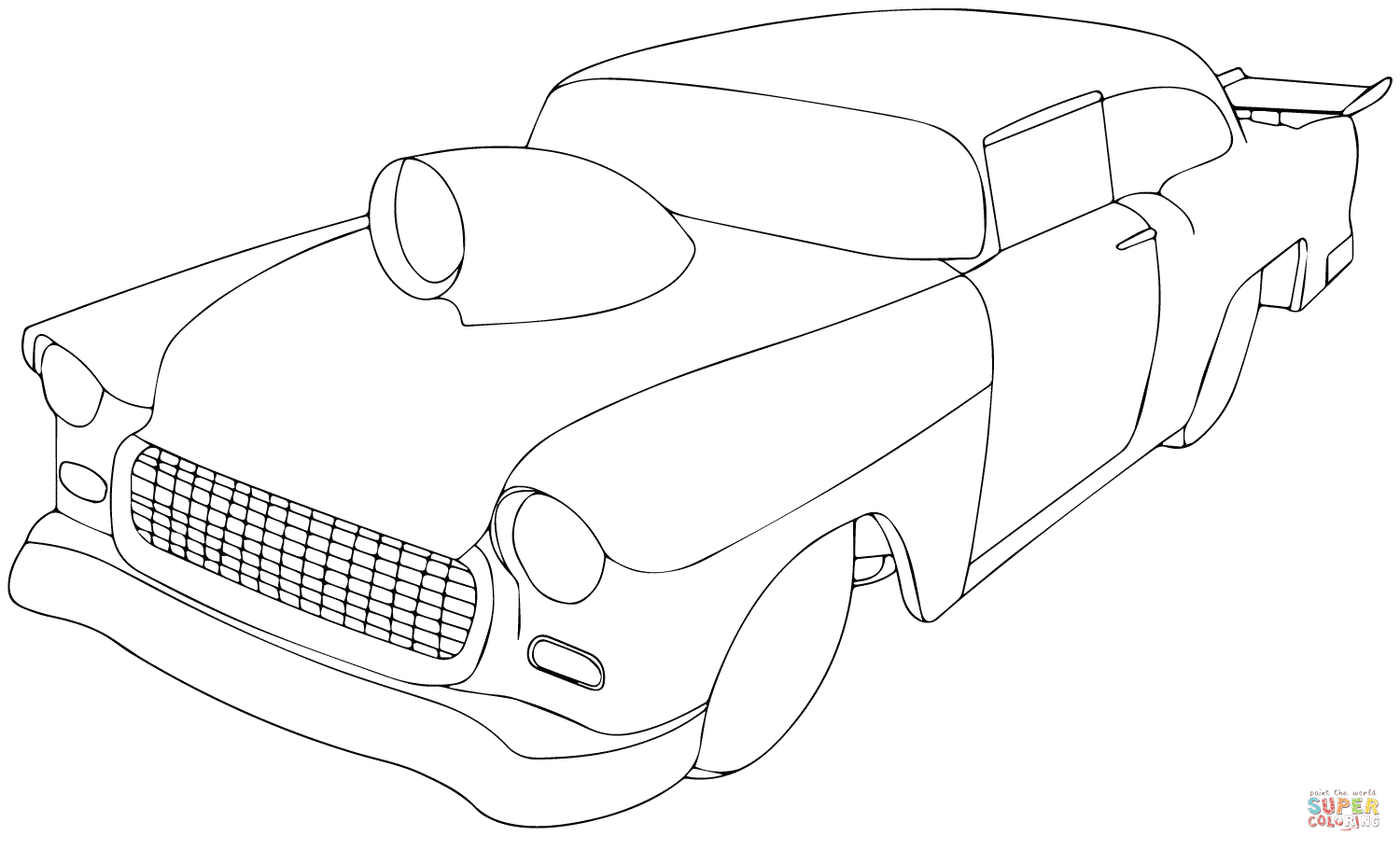 free coloring pages of old chevy blazer click the 1955 chevy pro