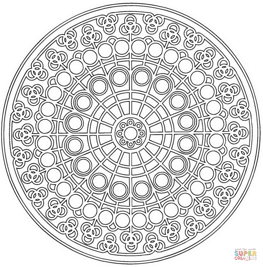 Celtic Mandala 23 - Simple Mandalas - 100% Mandalas Zen & Anti-stress | 924x910