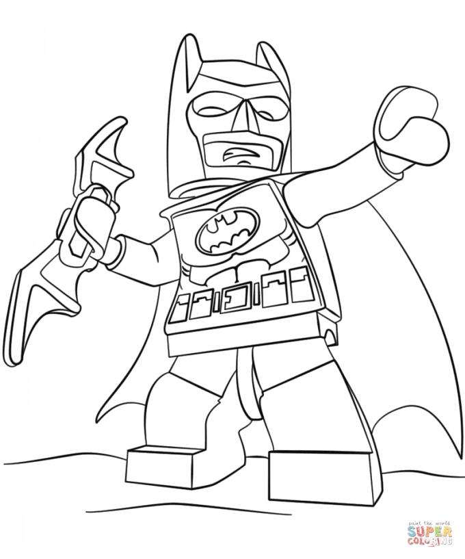 Click The Lego Batman Coloring Pages To View Printable Version Or Color It Online Compatible With Page Free