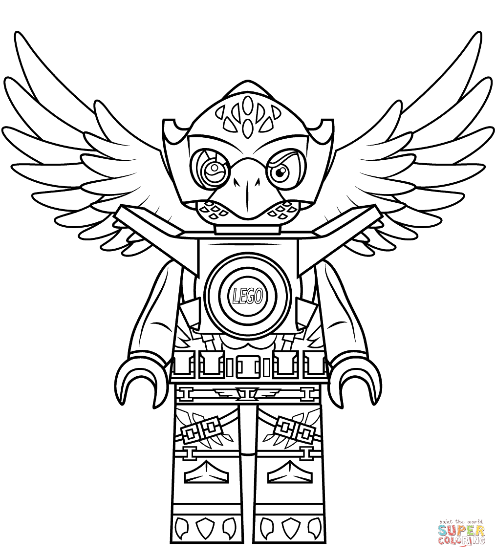 lego chima coloring page az coloring pages. lego chima warrior ...