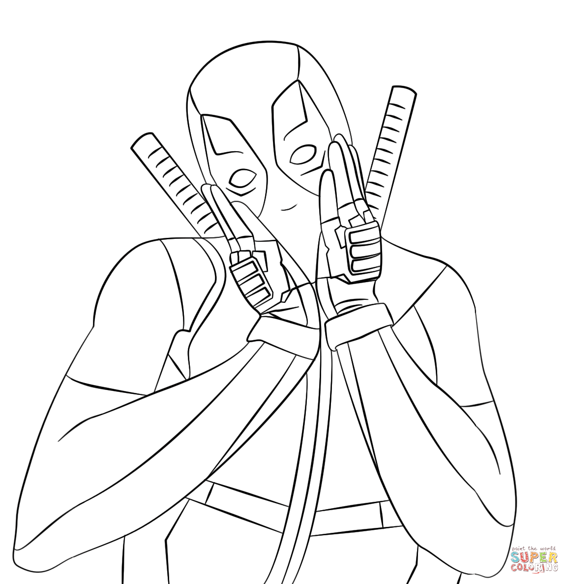Jet The Hawk Coloring Pages