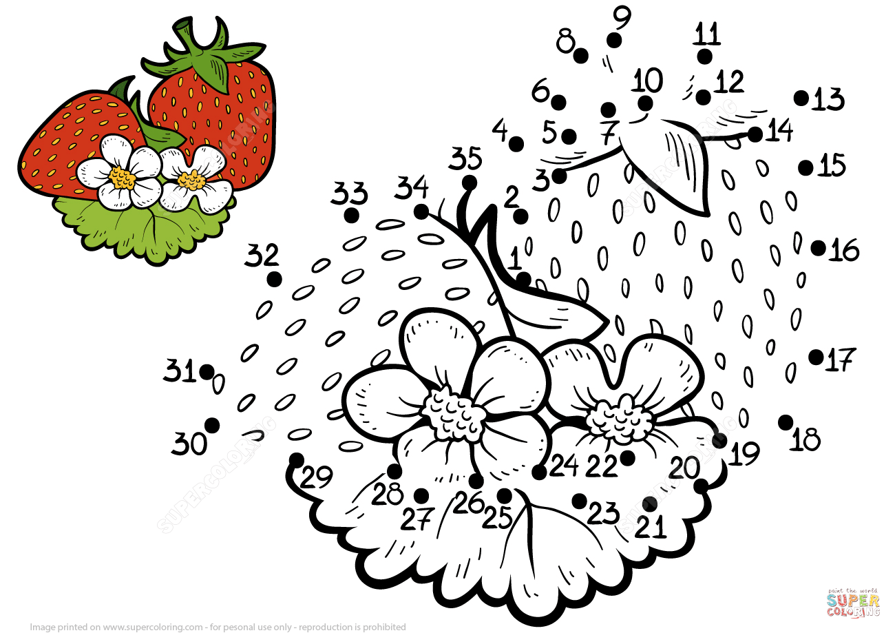 Strawberry Dot To Dot