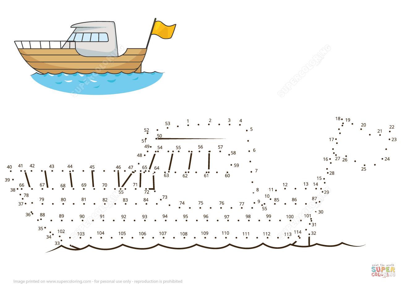 Yacht Dot To Dot