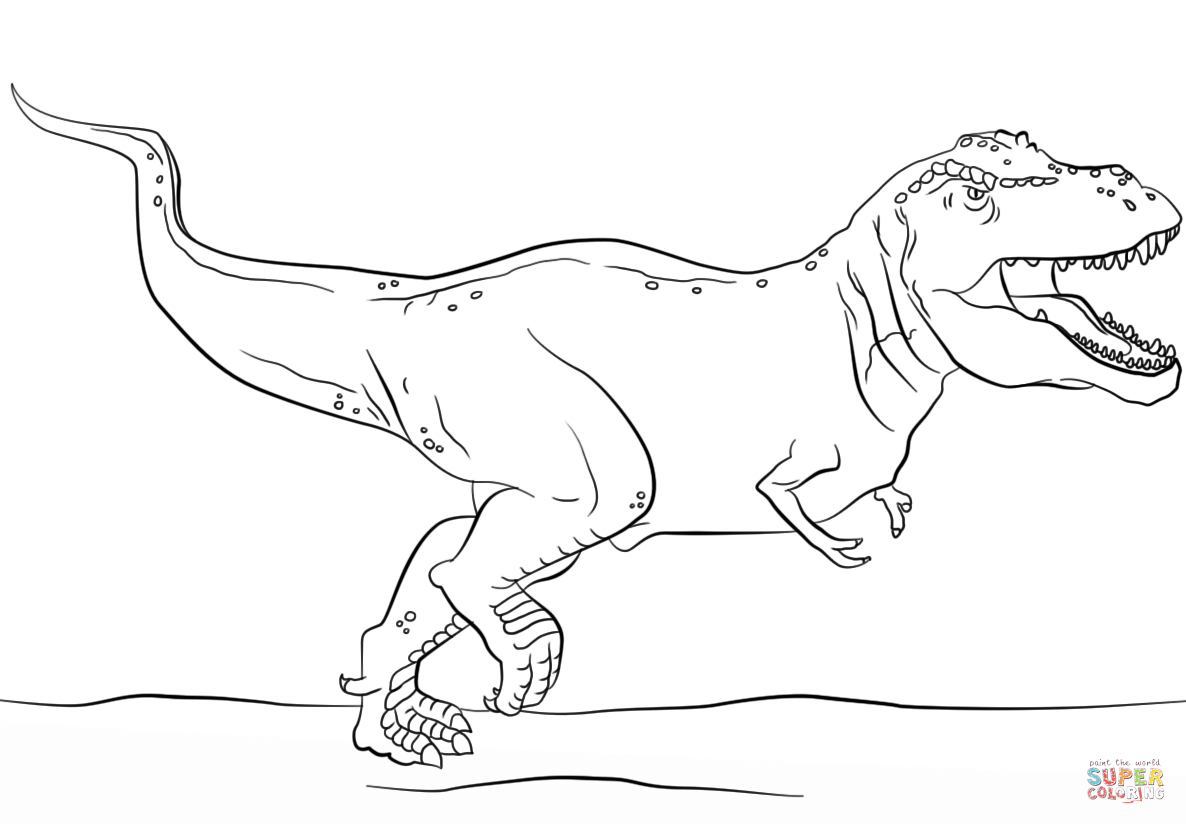 t rex coloring pages aaldtk