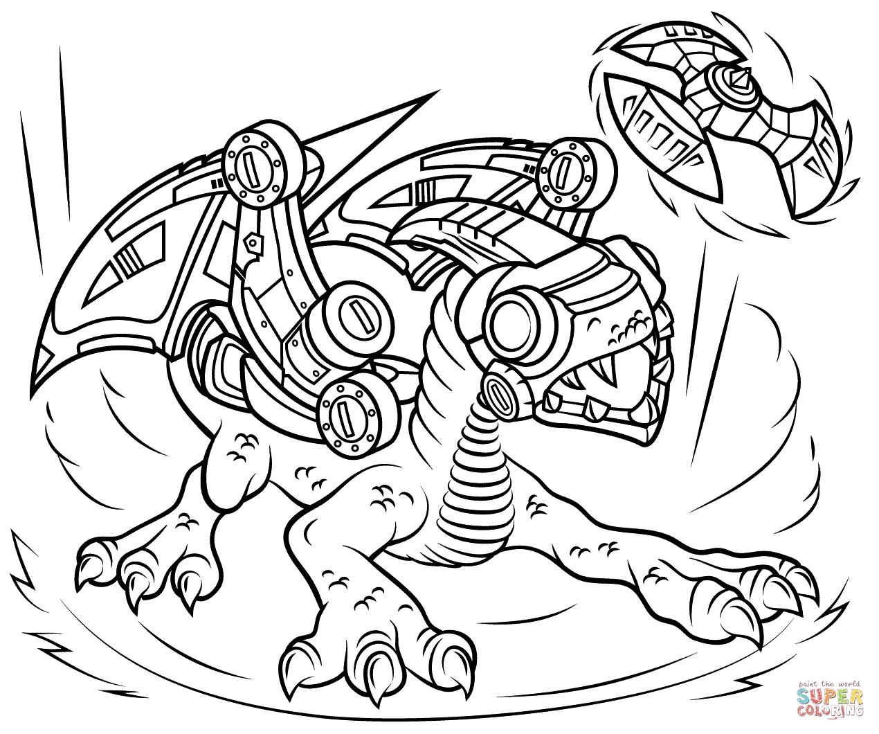 Skylanders Drobot Tegninger