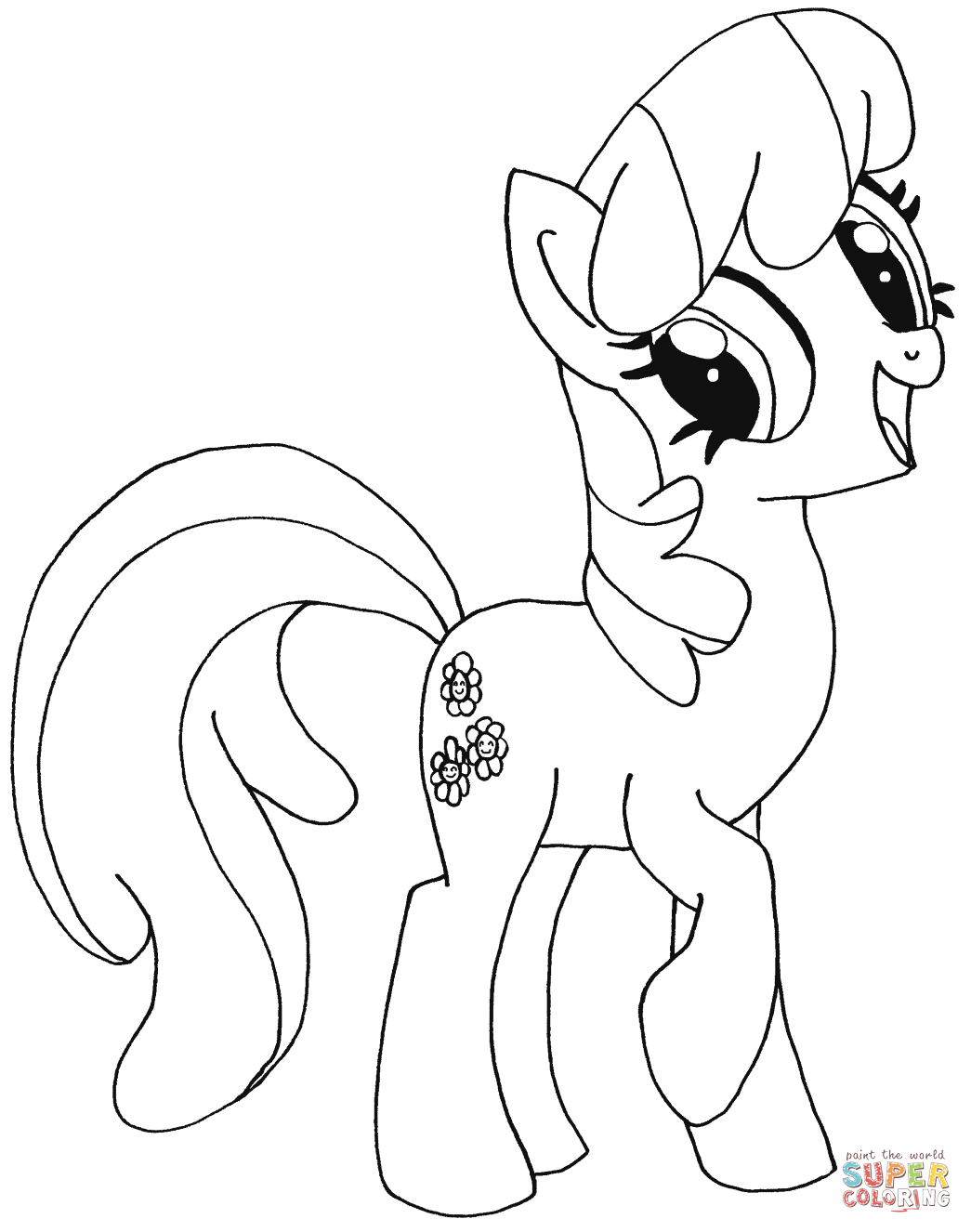 My Little Pony Cheerilee Coloring Page