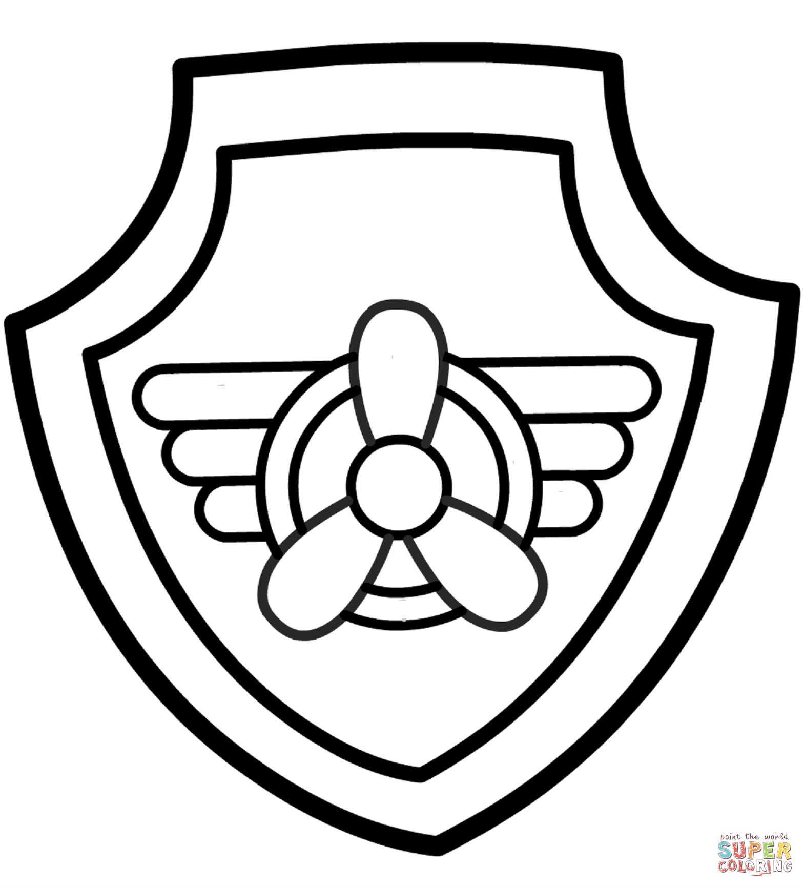 Police Badge Worksheet For Kindergarten