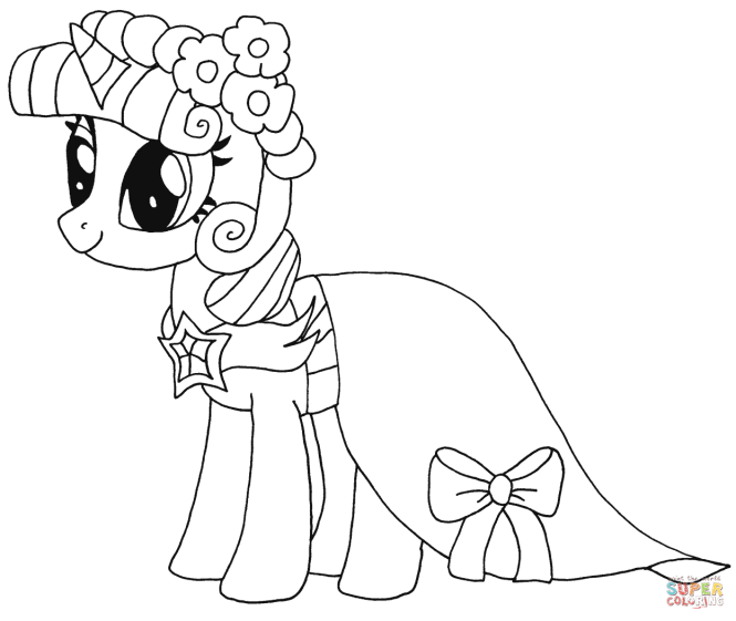 Princess Twilight Sparkle Rarity From My Little Pony
