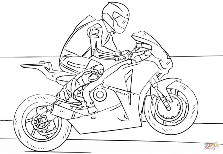 malvorlagen polizei motorrad  tippsvorlage