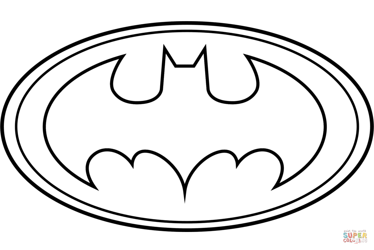 10 Of The Best Ideas For Free Printable Batman Logo