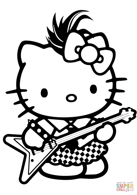 Rock Star Coloring Pages   Coloring Book Printable Rock Star Coloring Pages