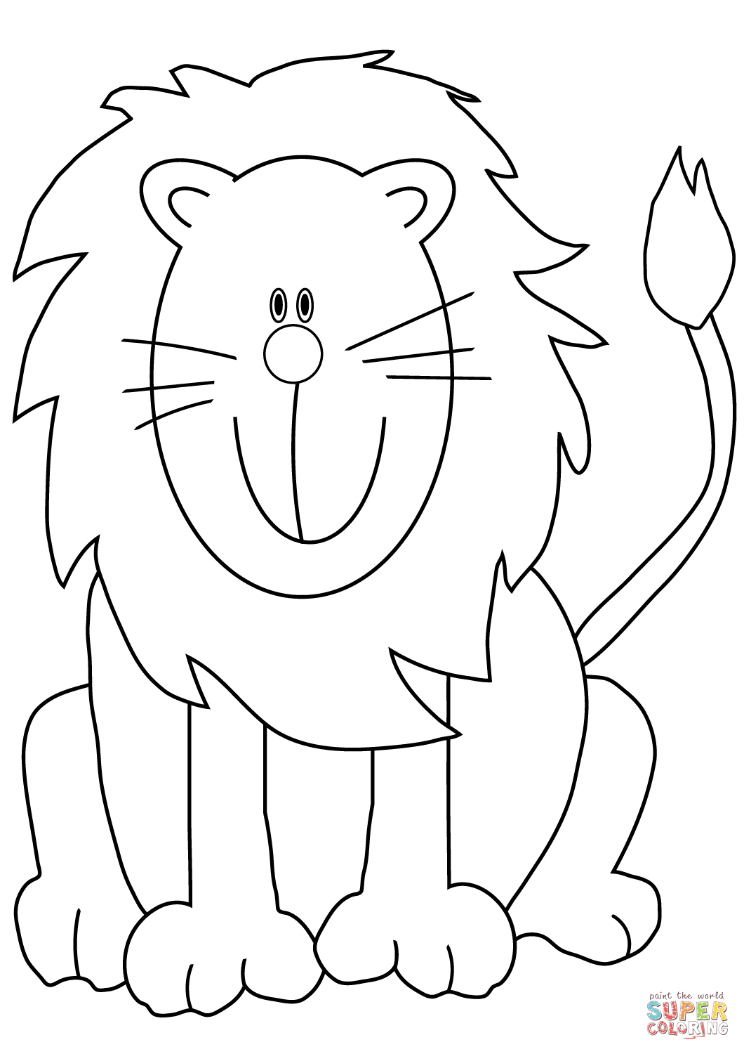 Drawing Tutorials Tags Lions Coloring Pages Printable