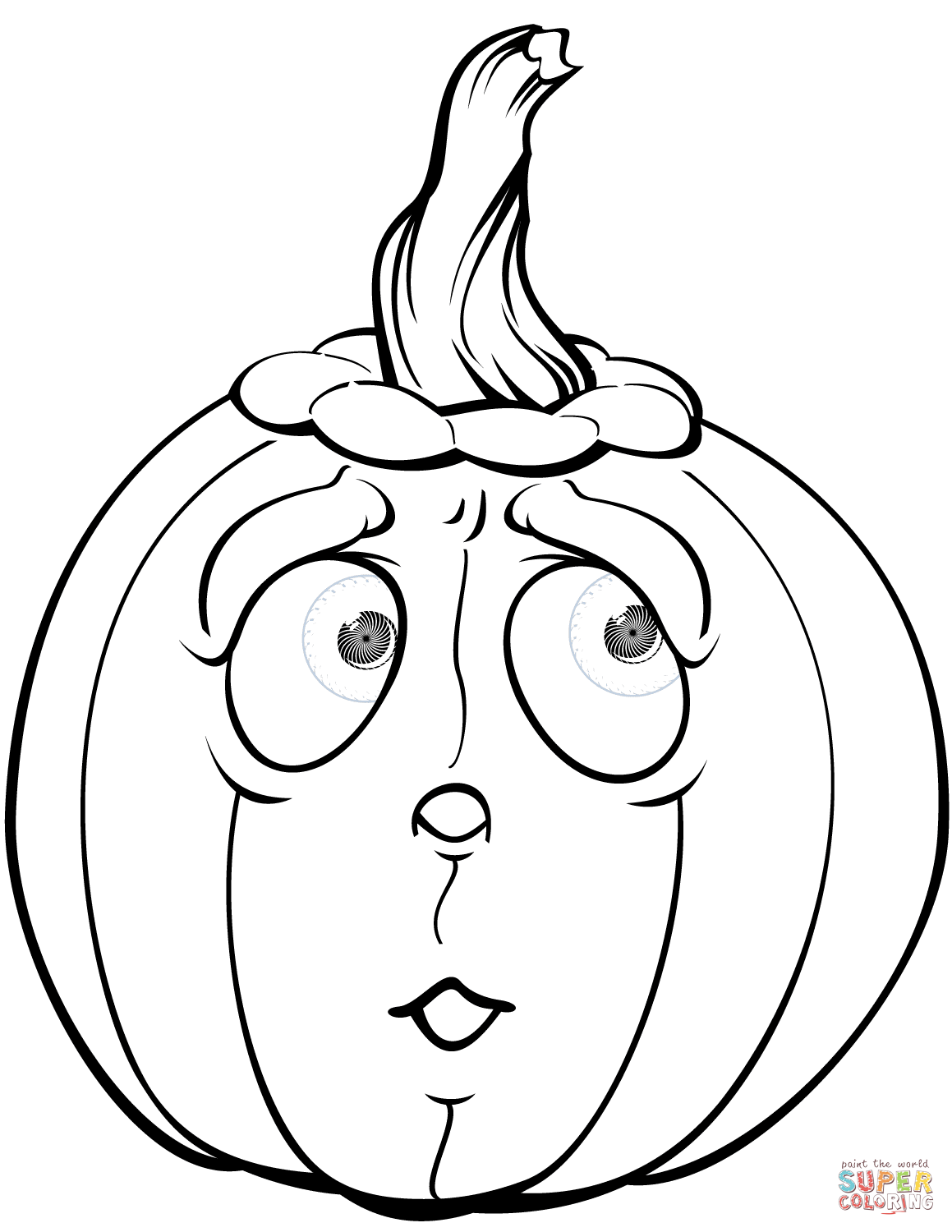 21 Ideas For Pumpkin Coloring Sheet Printable