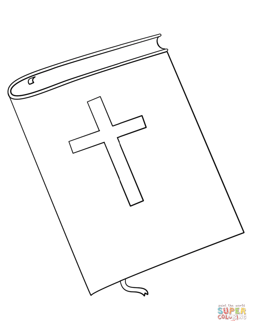 bible book coloring page free printable coloring pages