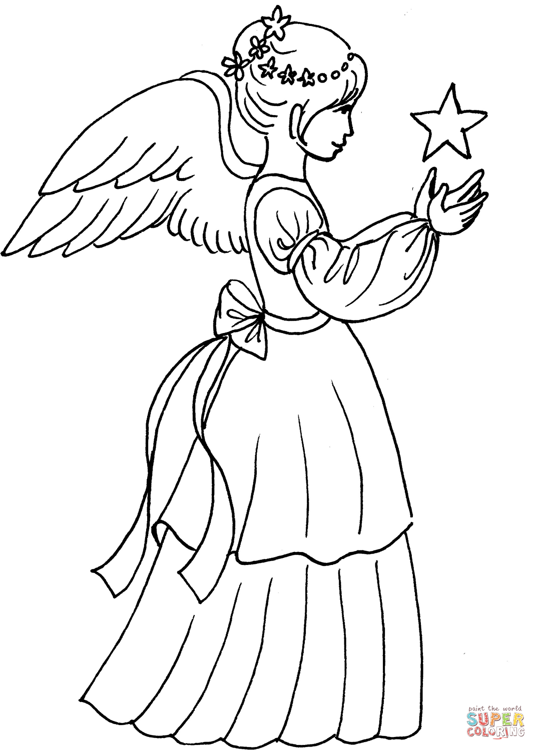 Los Angeles Angels Coloring Pages