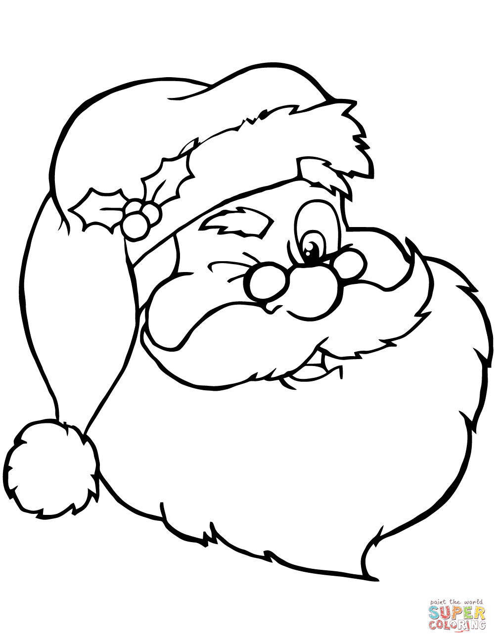 Feliz Navidad Christmas Tree Coloring Pages