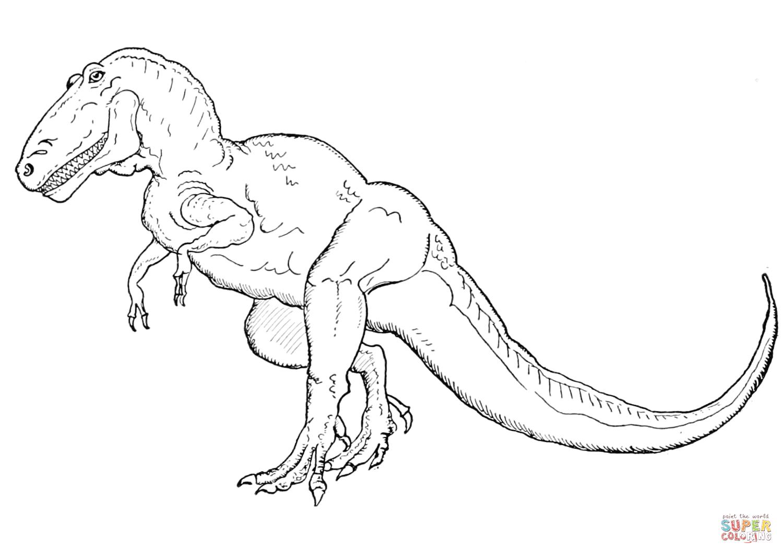 Dinosaurier Ausmalbilder Tyrannosaurus Rex Ausmalbilder