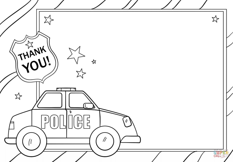 Cop Printable Worksheet