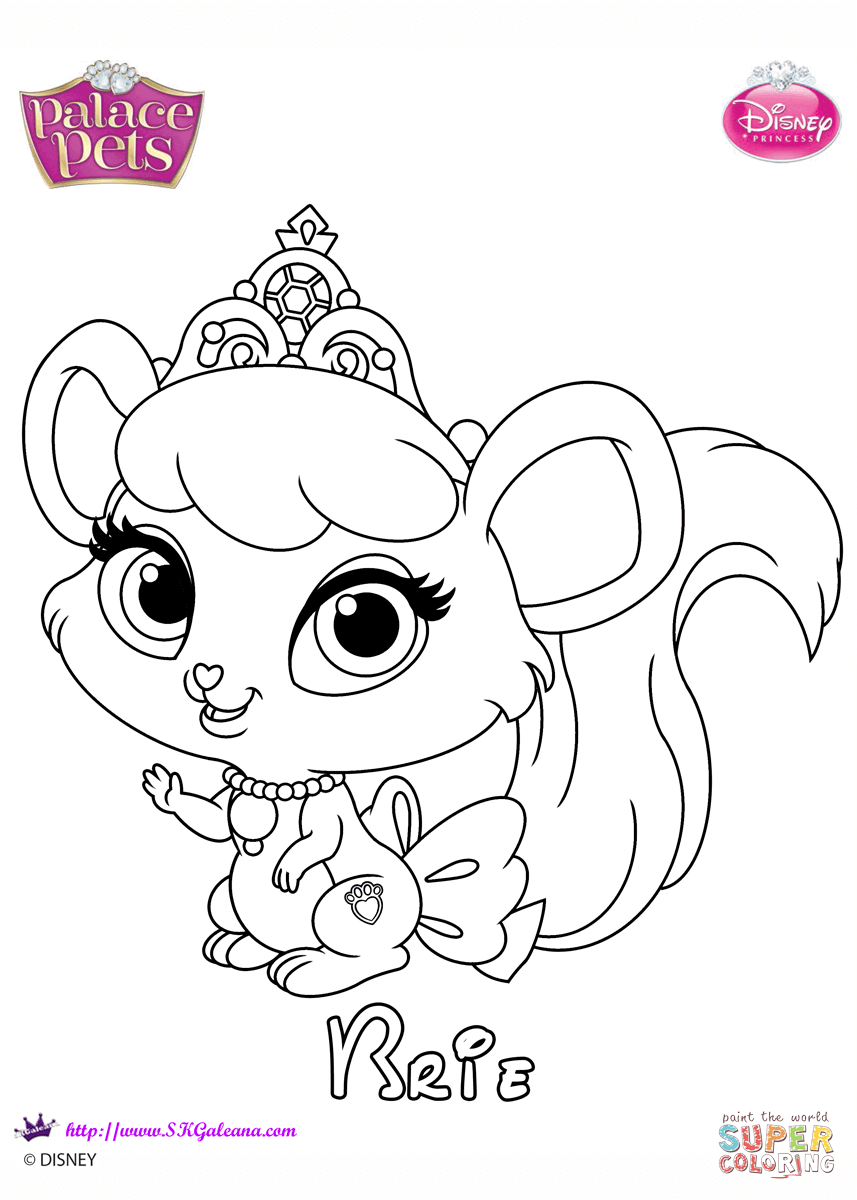 Brie Princess Coloring Page Free Printable Pages