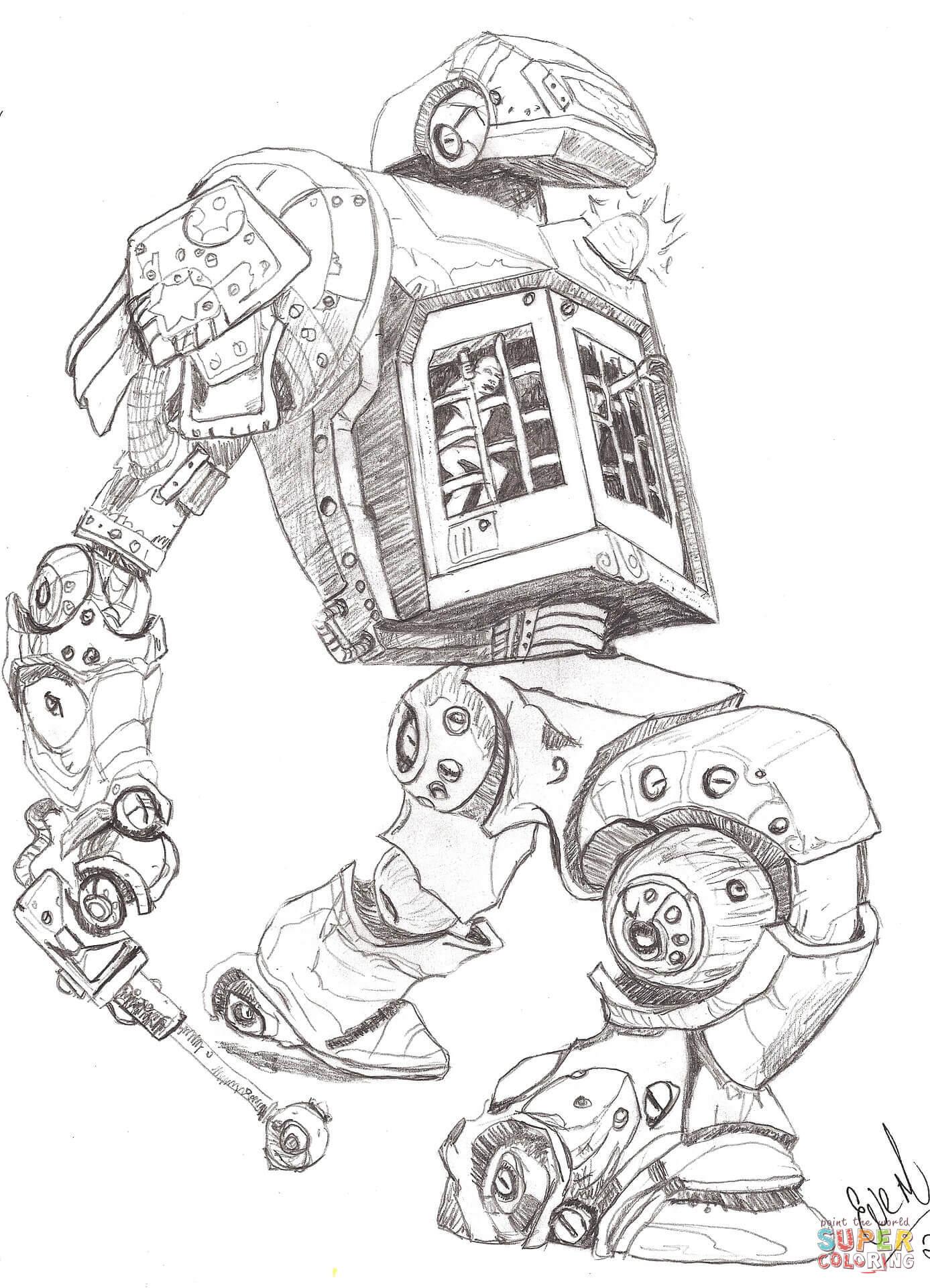 Printable Robot Worksheet