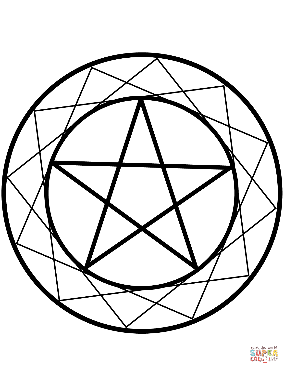 Wiccan Coloring Pages Free Coloring Pages Download | Xsibe pagan ...