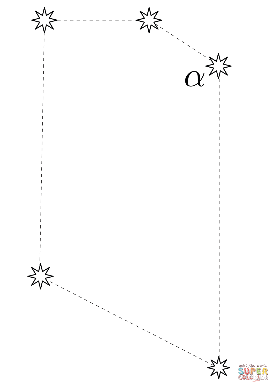 50 Constellation Dot To Dot Worksheets Free