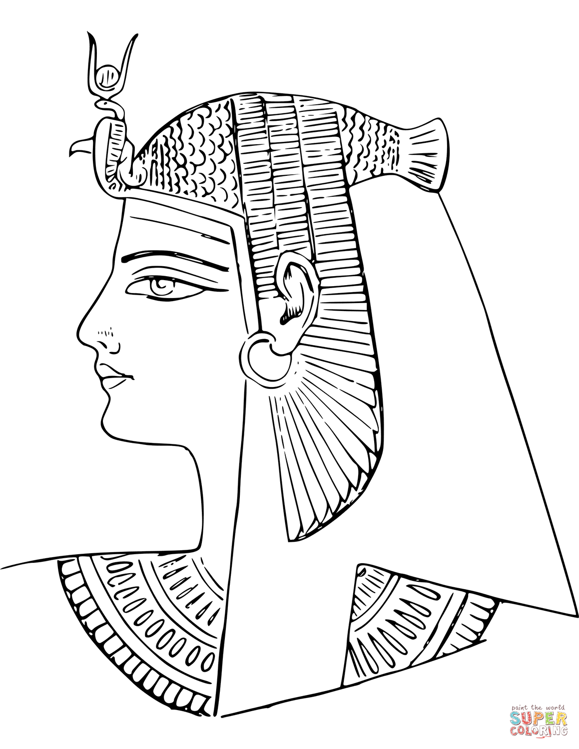 Worksheet Ancient Egypt Nefertiti