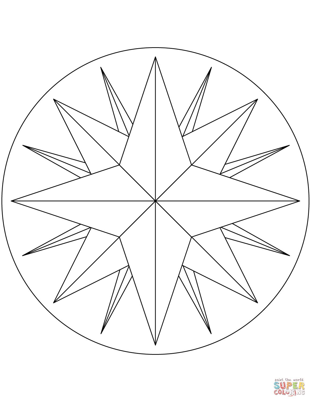 Worksheet For Compass Rose