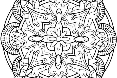 Flower Mandalas Coloring Book By Thaneeya McArdle Com Floral Mandala Page Blank Last Chance Pages Free