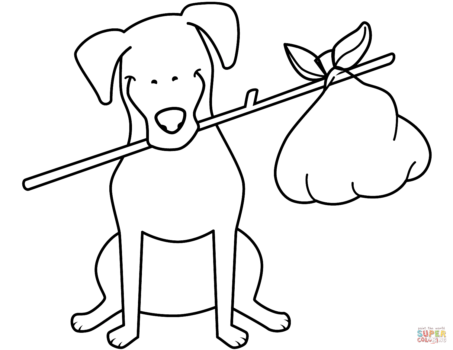 Funny Husky Coloring Page Free Printable Coloring Pages
