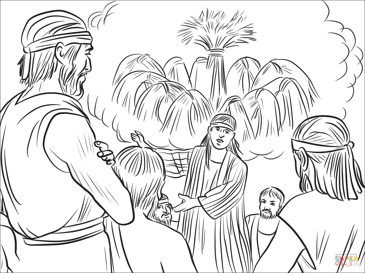 Joseph S Dreams Coloring Page