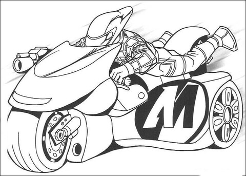 motorcycle coloring page free printable coloring pages