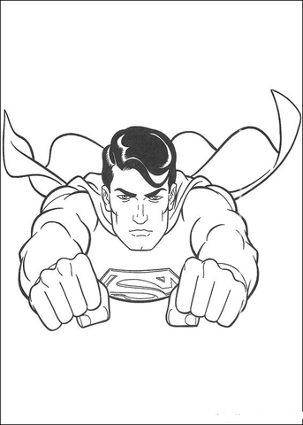 Superman Returns Coloring Page Free Printable Coloring Pages