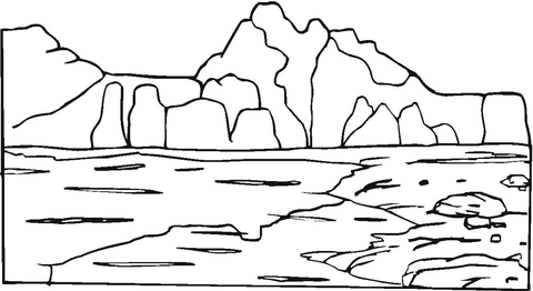 rock coloring pages # 3