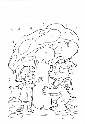 dragon tales coloring pages free coloring pages
